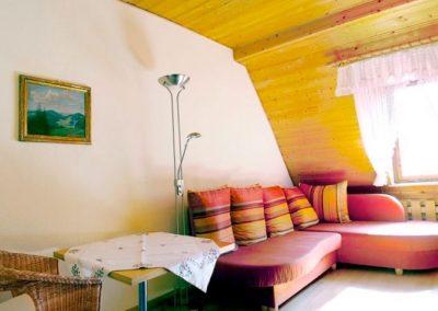 Ferienwohnung Zimmer mit Schlafsofa
