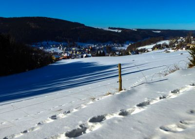 Rittersgrün Wintersansicht
